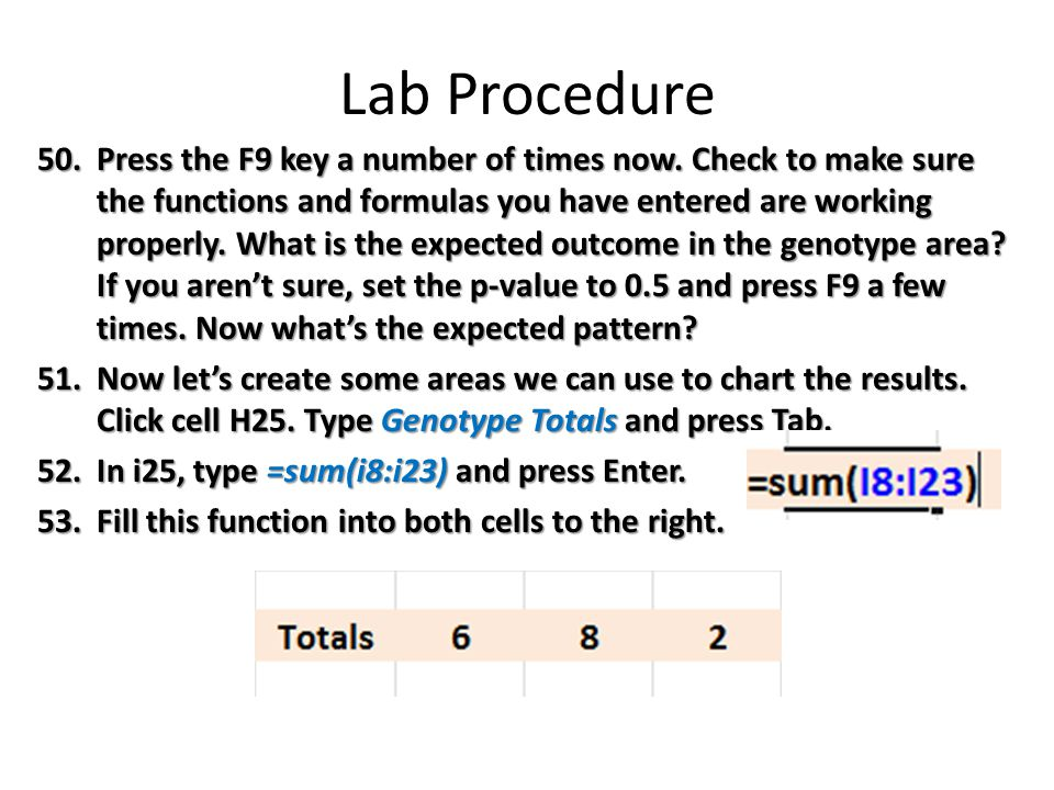 Lab Procedure 50.Press the F9 key a number of times now.
