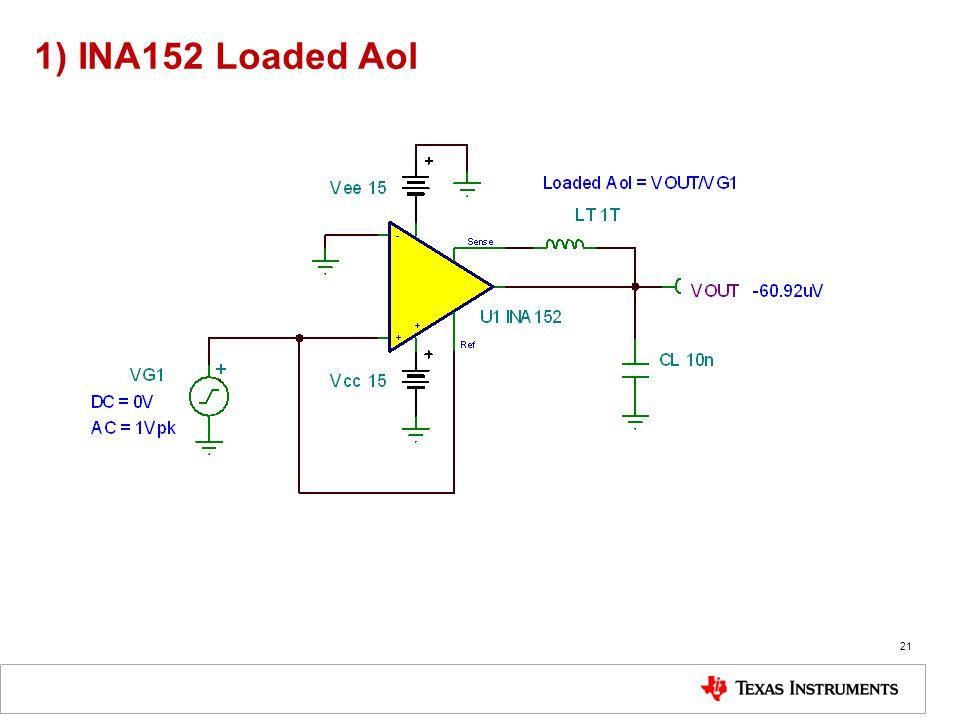 1) INA152 Loaded Aol 21