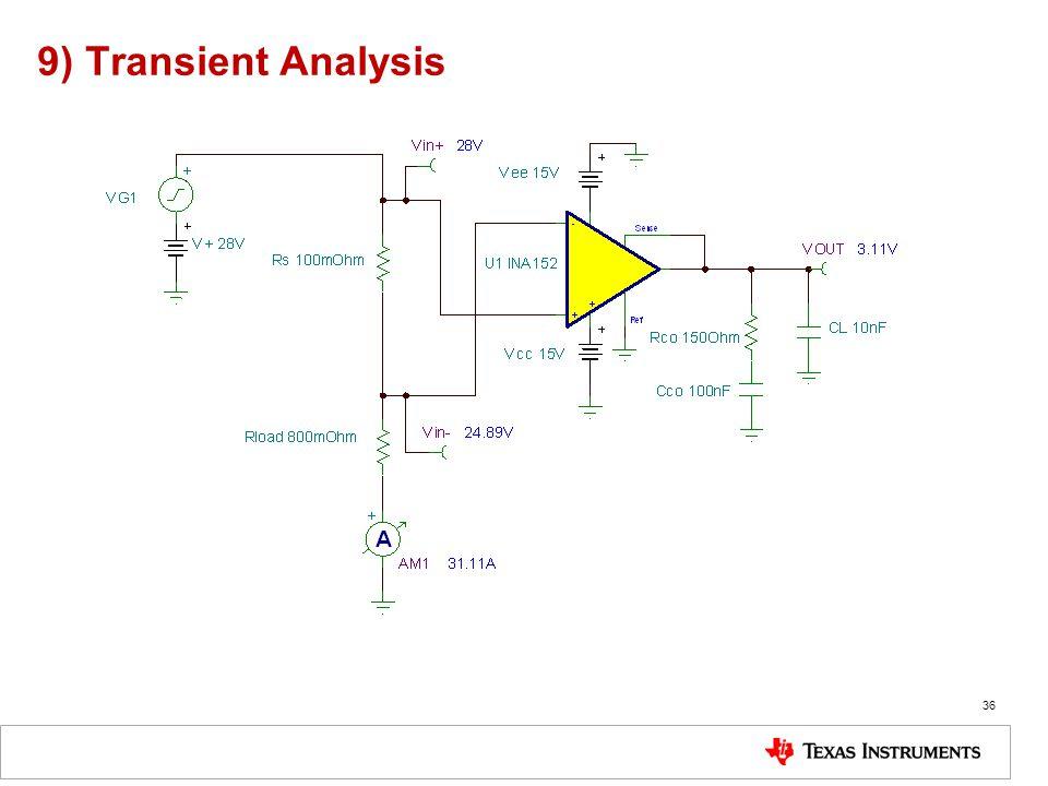9) Transient Analysis 36