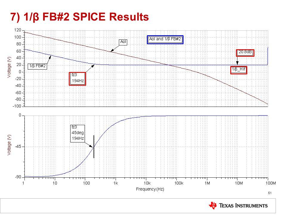 7) 1/β FB#2 SPICE Results 51