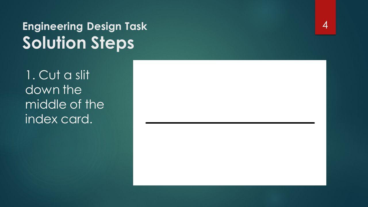 Engineering Design Task Solution Steps 2.