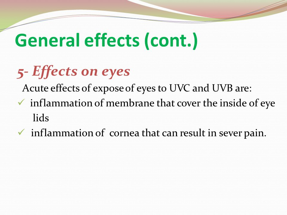 Therapeutic Uses of UVR 1- Acne 2- Psoriasis 3- Incipient pressure areas 4-Wound healing 5- Eczema