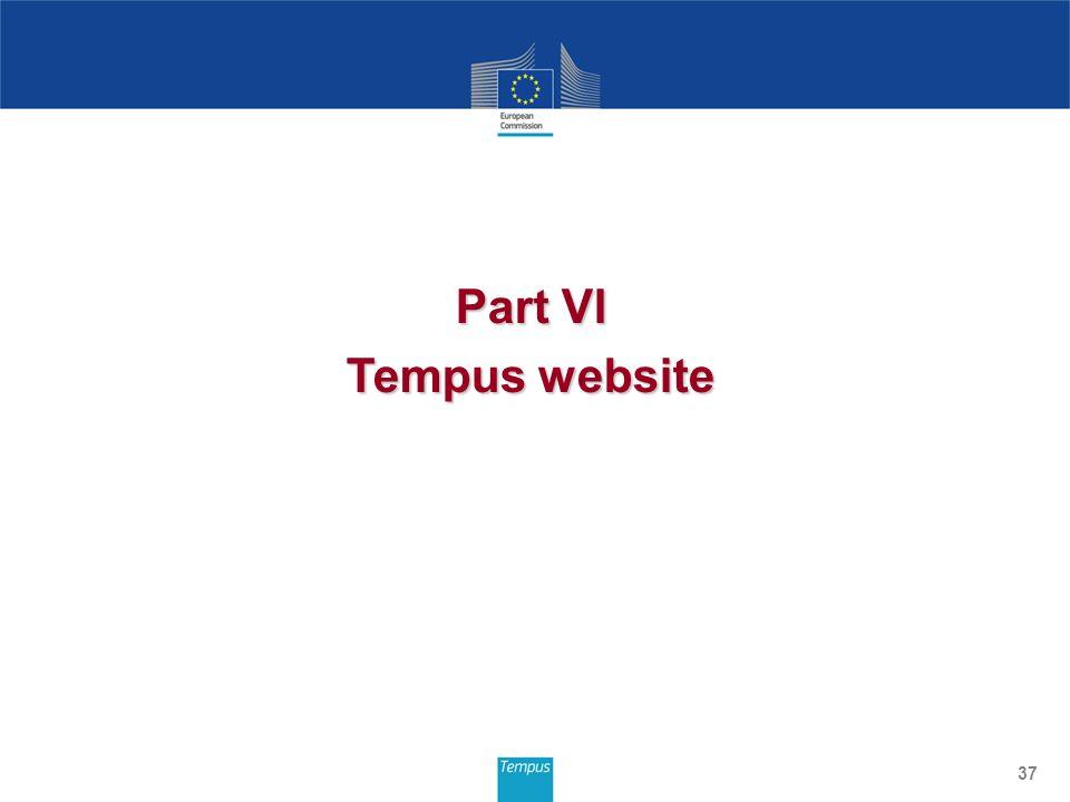 Part VI Tempus website 37