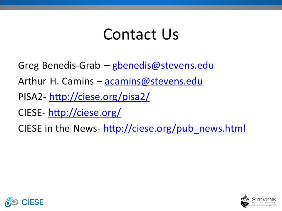 Greg Benedis-Grab – gbenedis@stevens.edugbenedis@stevens.edu Arthur H.