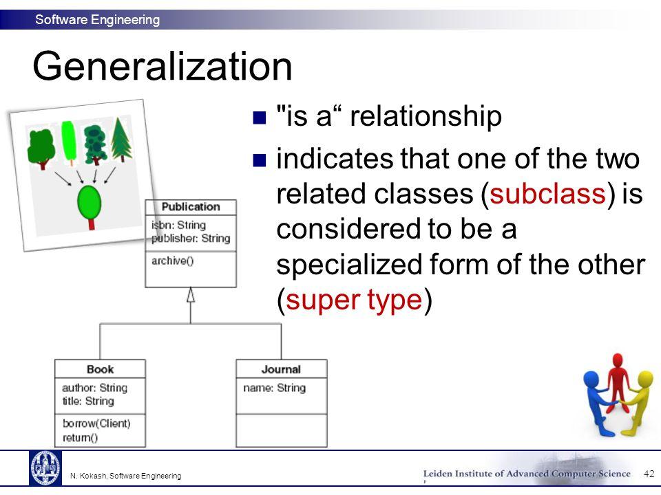 Software Engineering Generalization