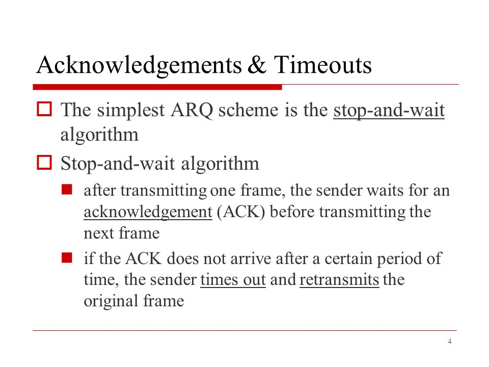 SW: Sender  Assign a sequence number ( SeqNum ) to each frame  Maintain three state variables send window size ( SWS )  the upper bound on the number of outstanding (unacknowledged) frames that the sender can transmit last acknowledgment received ( LAR )  the sequence number of the last acknowledgment received last frame sent ( LFS )  the sequence number of the last frame sent 15