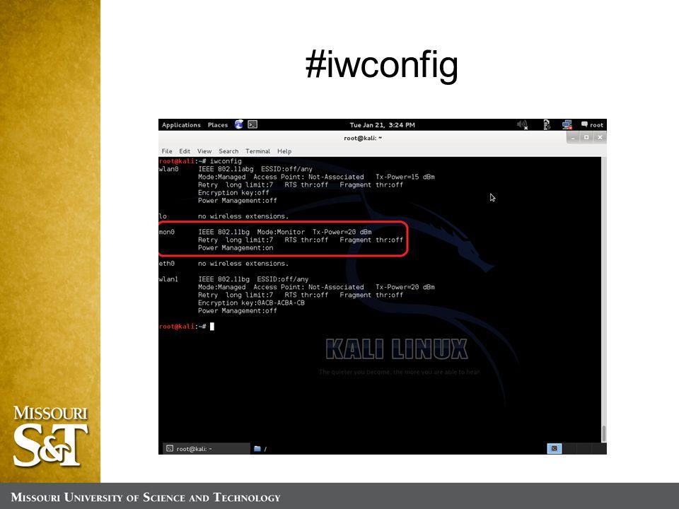 #iwconfig