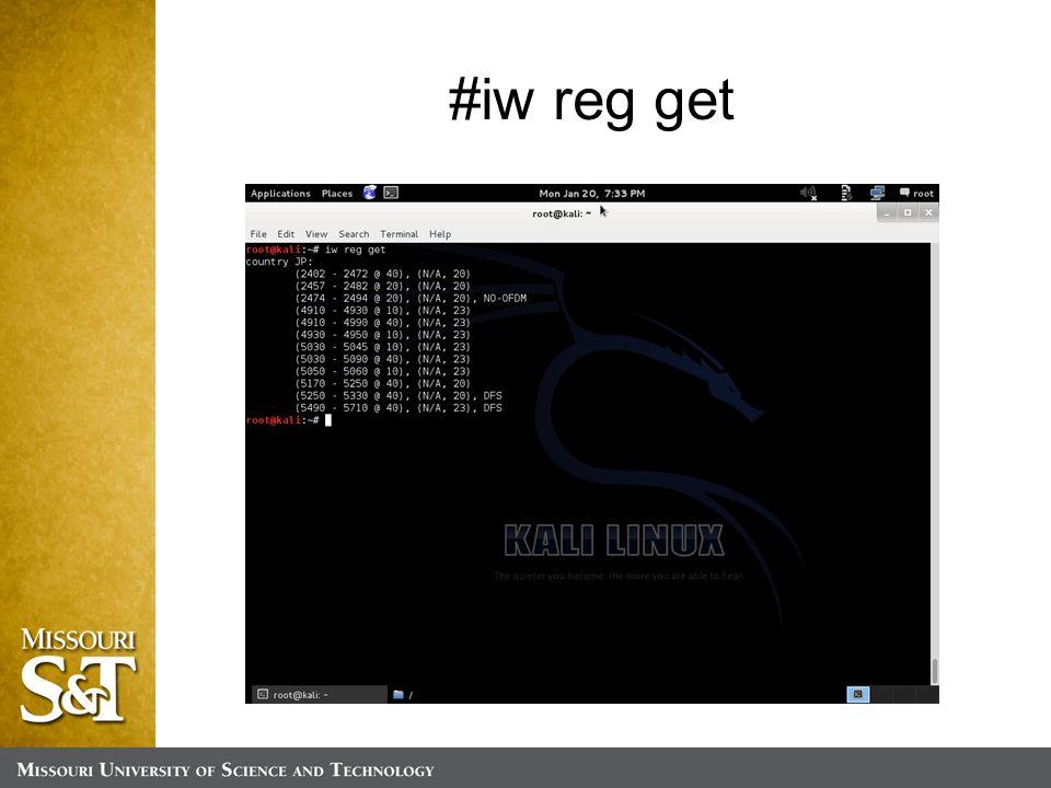 #iw reg get