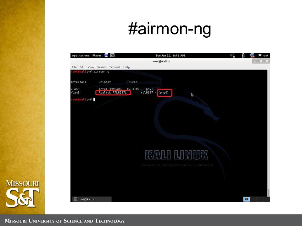 #airmon-ng