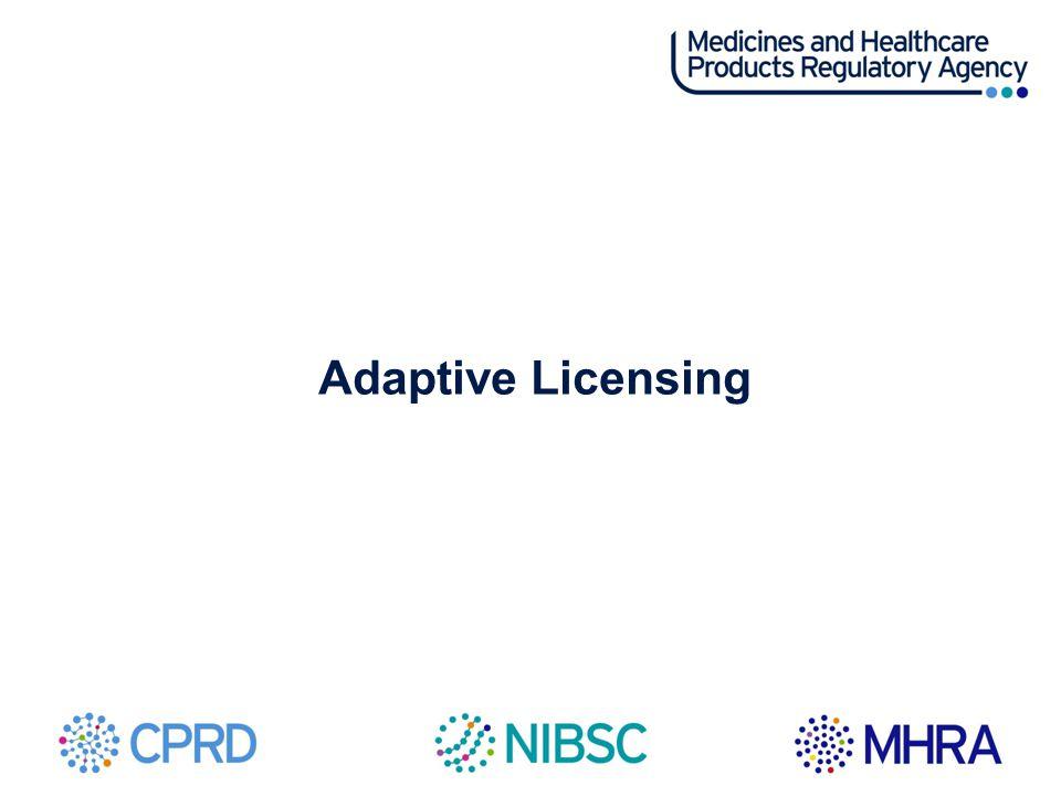 Adaptive Licensing