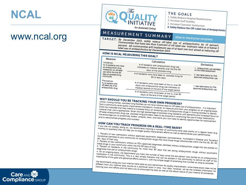 www.ncal.org NCAL