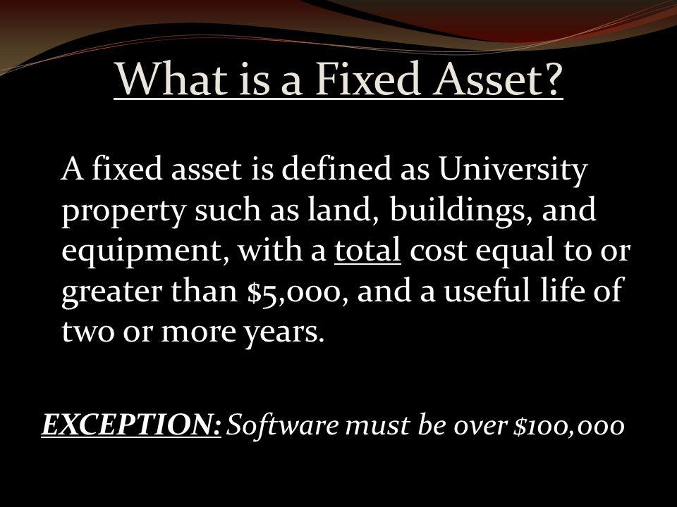 Fixed Assets Website