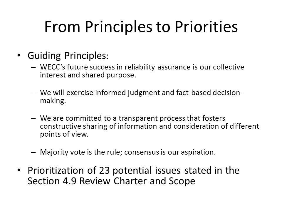 Western Electricity Coordinating Council A1.Board operation (meeting schedule/agendas) A2.