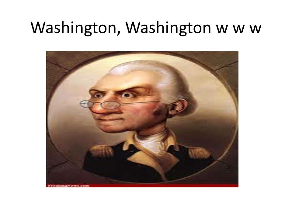 Washington, Washington w w w