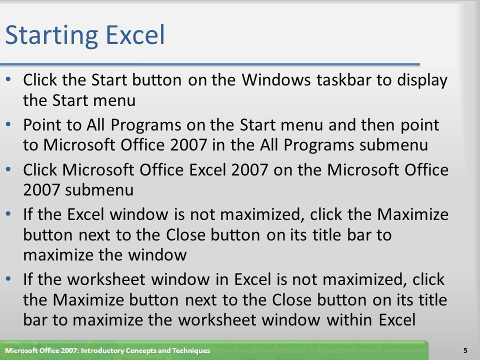 Microsoft Office 2007 Excel Chapter 2 Complete QUESTIONS ???