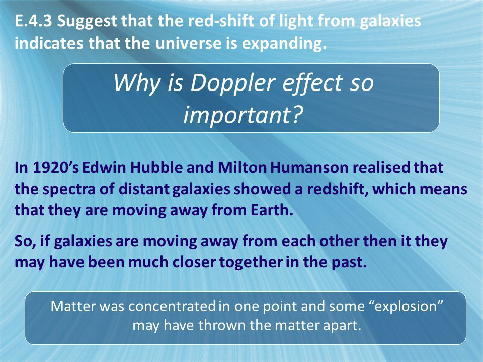 Why is Doppler effect so important.