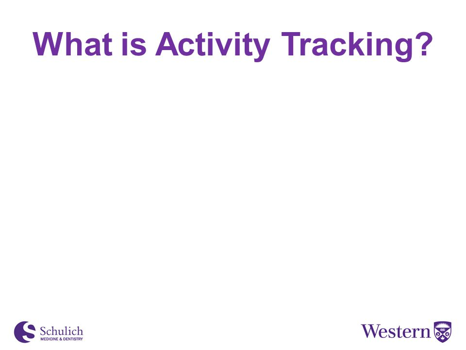 What is Activity Tracking