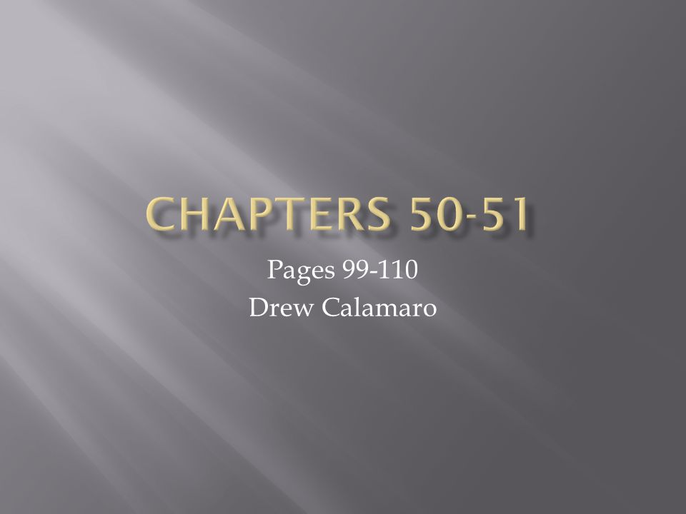 Pages 99-110 Drew Calamaro