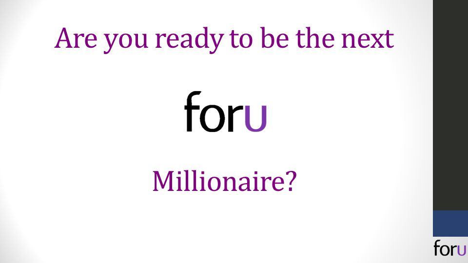 Are you ready to be the next Millionaire