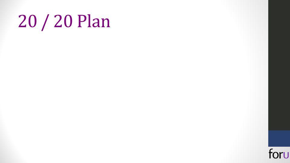 20 / 20 Plan