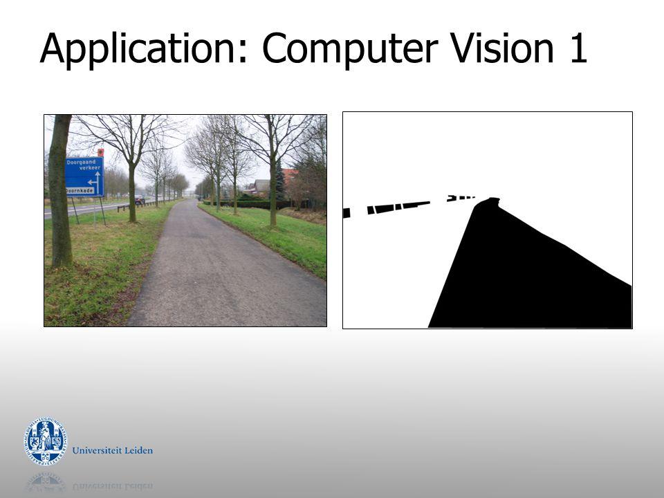 Application: Computer Vision 1