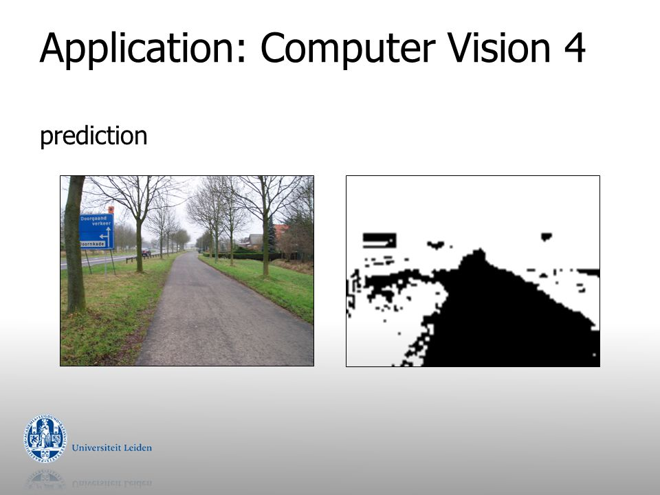 Application: Computer Vision 4 prediction
