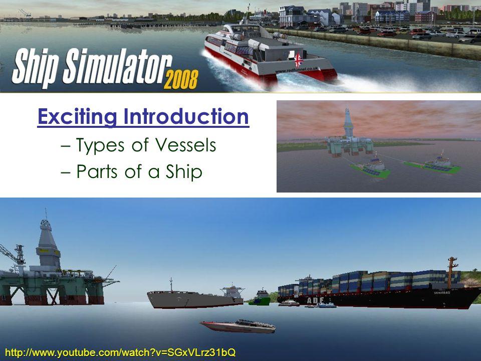 Ship Simulator Anchor-Handling Towing Ship Fore-castle Bridge of AHTS