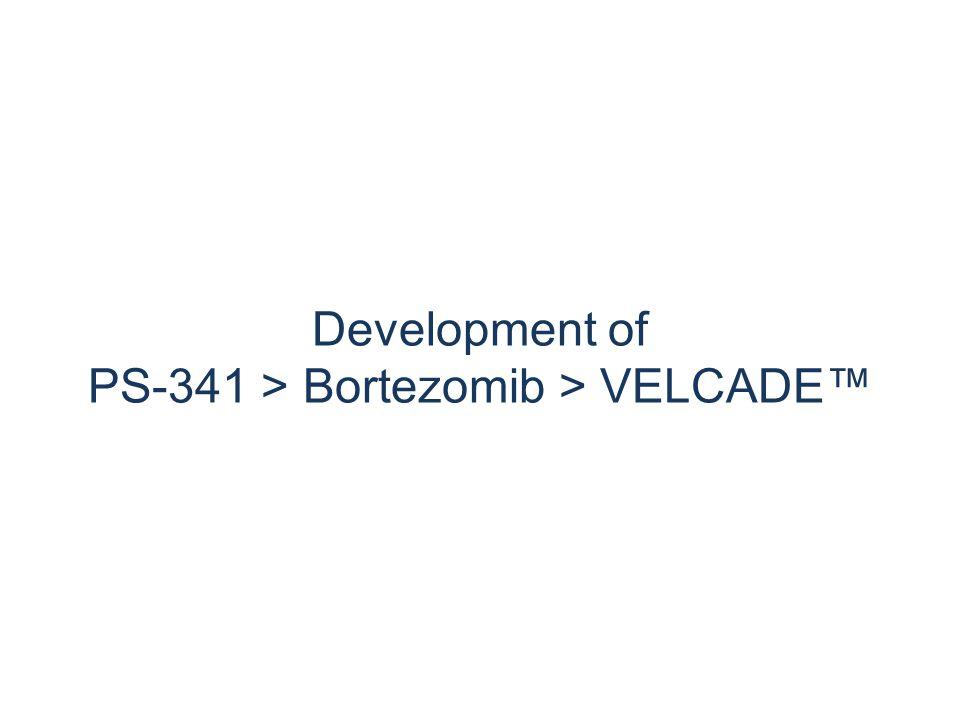 Development of PS-341 > Bortezomib > VELCADE™