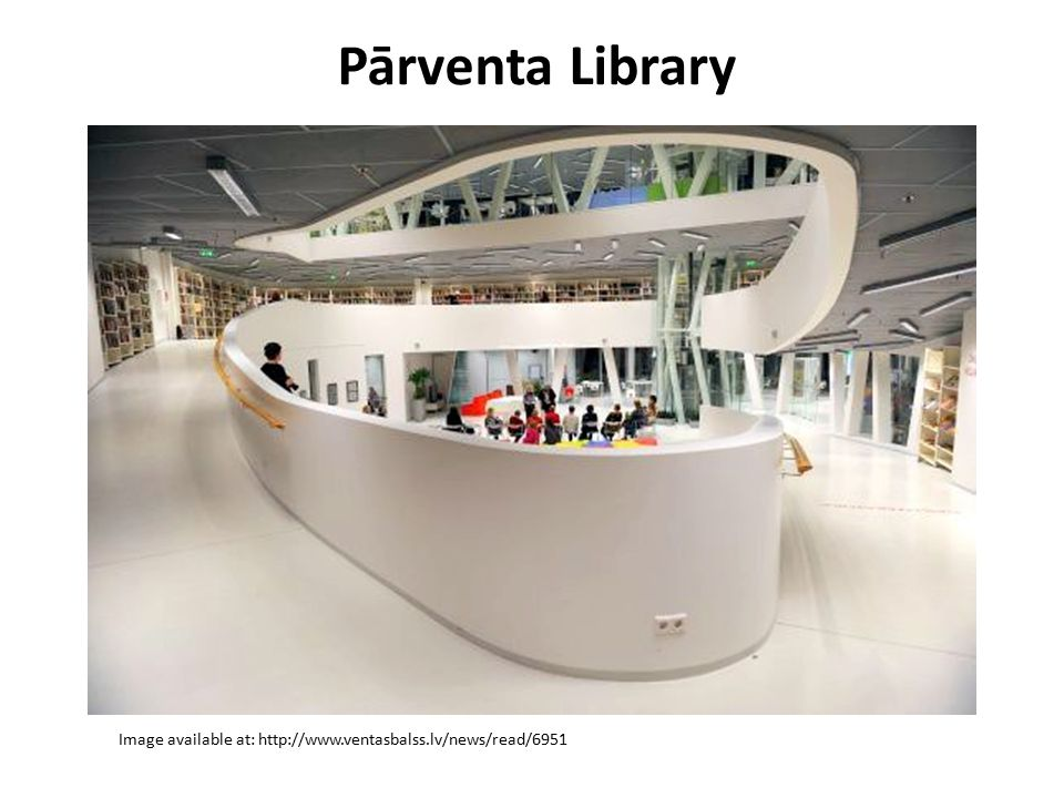 Pārventa Library Image available at: http://www.ventasbalss.lv/news/read/6951