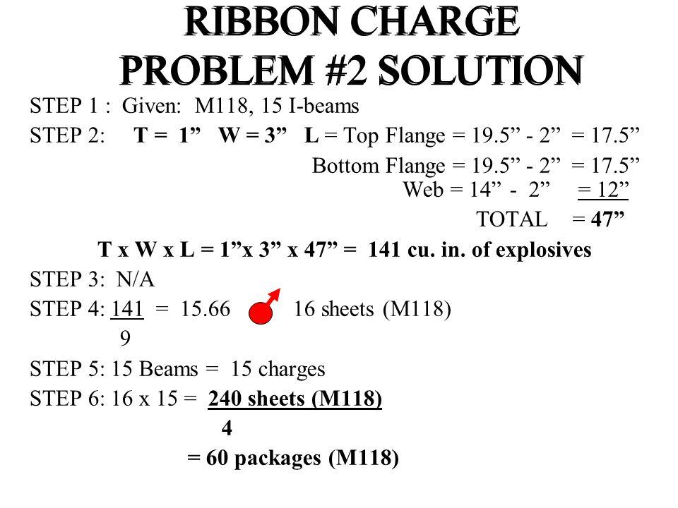 """STEP 1 : Given: M118, 15 I-beams STEP 2: T = 1"""" W = 3"""" L = Top Flange = 19.5"""" - 2"""" = 17.5"""" Bottom Flange = 19.5"""" - 2"""" = 17.5"""" Web = 14"""" - 2"""" = 12"""" TOT"""