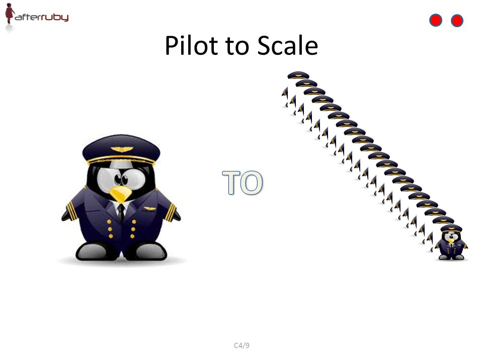 Pilot to Scale TO C4/9