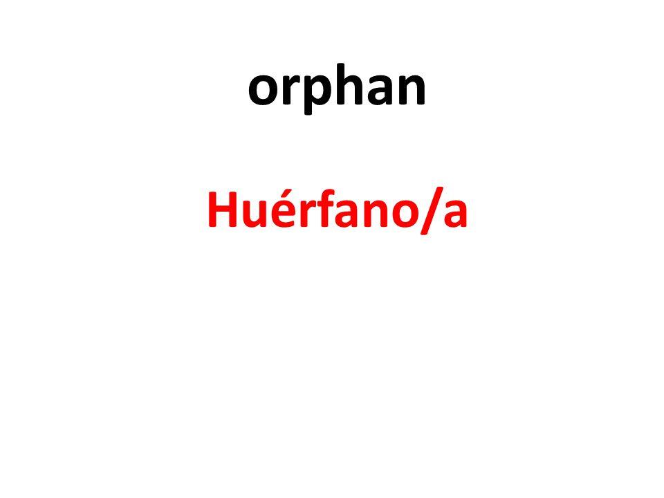 orphan Huérfano/a