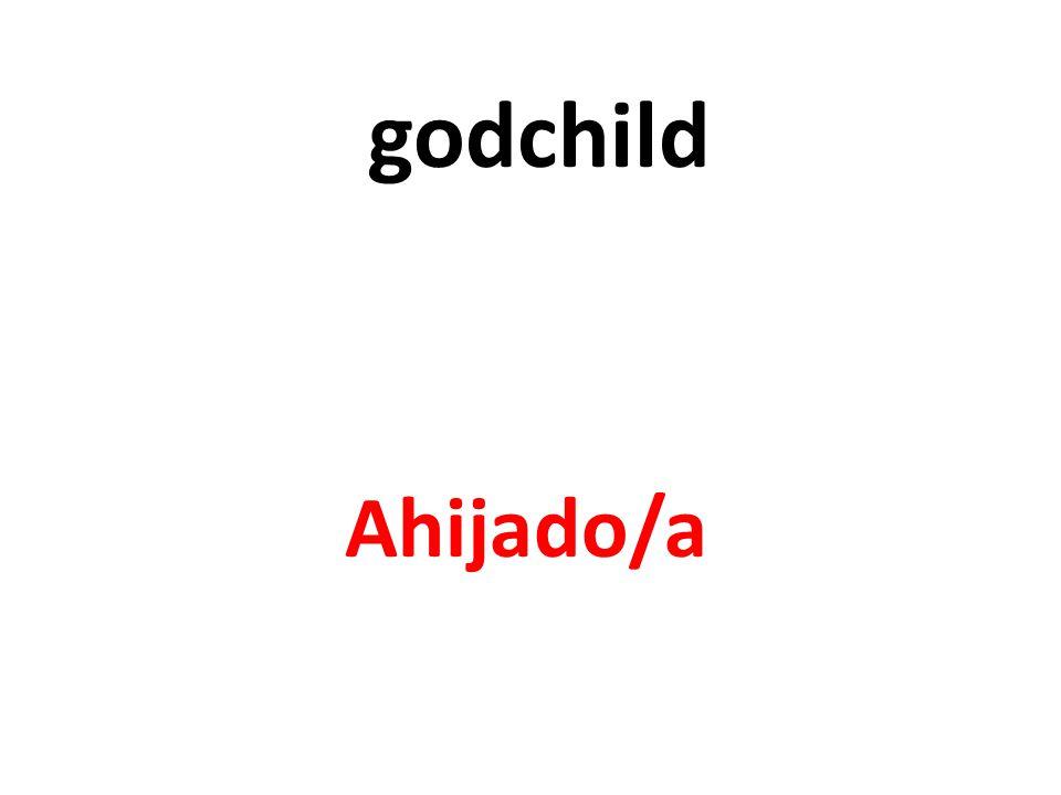 godchild Ahijado/a