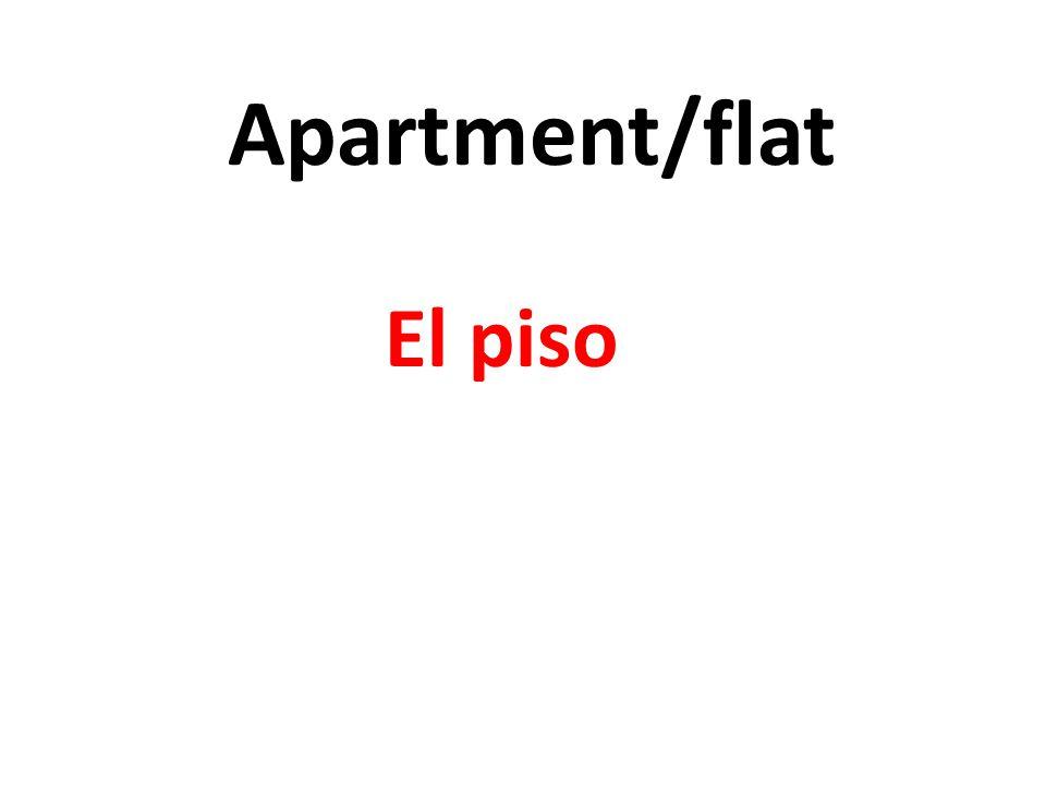 Apartment/flat El piso