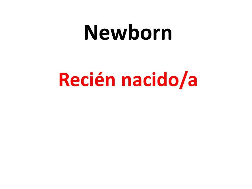 Newborn Recién nacido/a