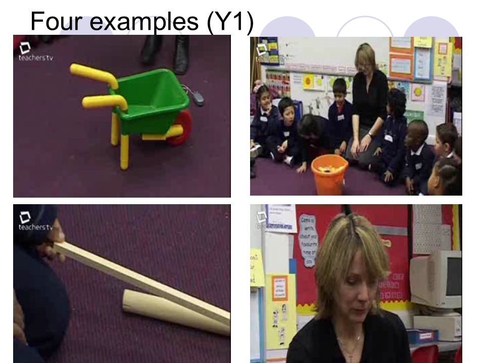 Four examples (Y1)