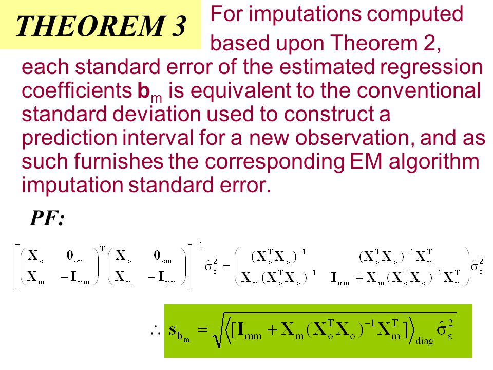 The Jacobian term NOTE: denominator becomes (n-n m )