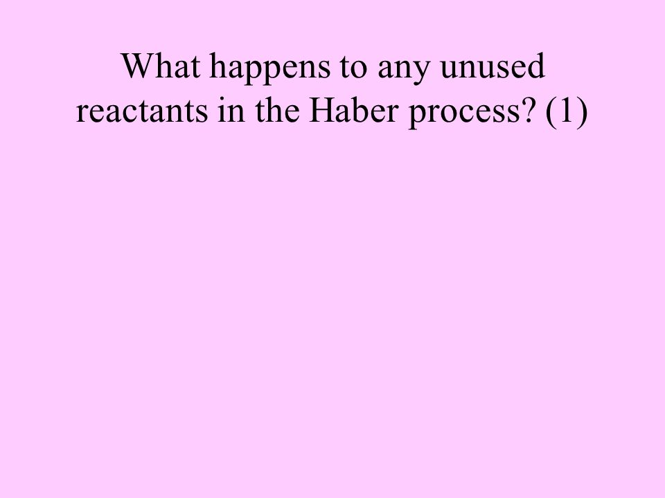 Haber process - Why is 200atm a compromise pressure (3)