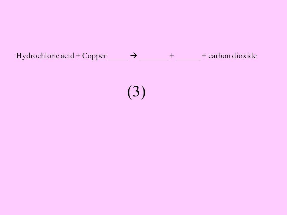 Sulfuric acid + magnesium oxide  ______ + _______ (2)