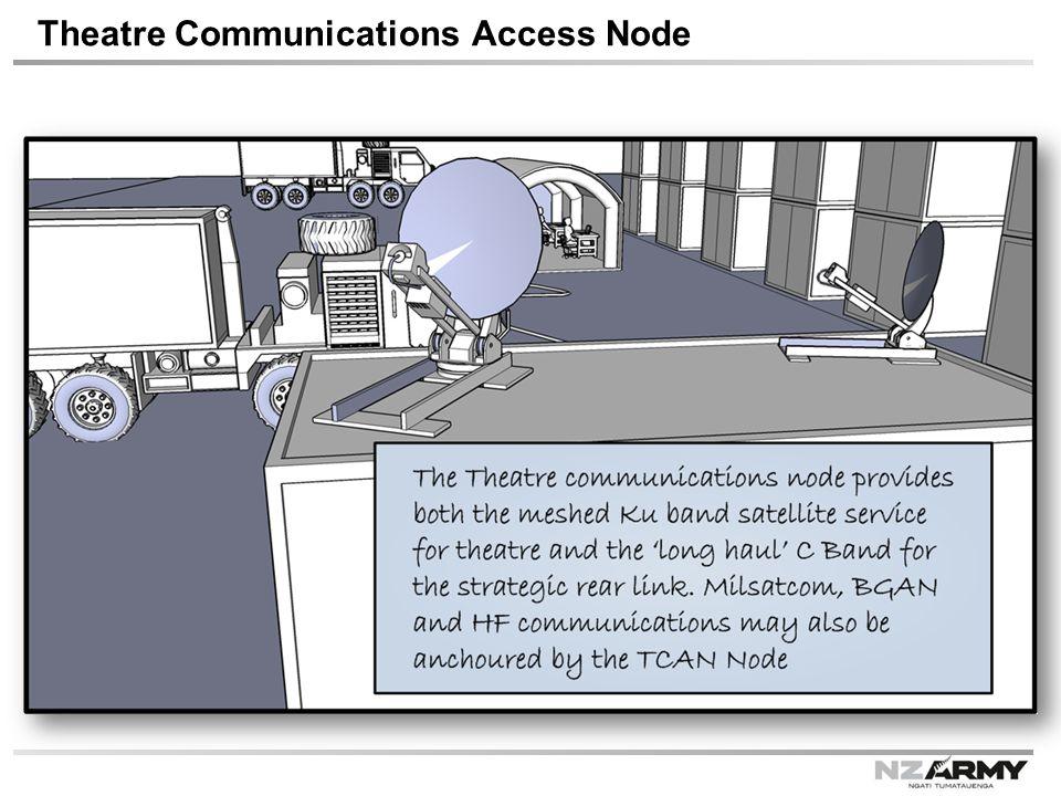 Theatre Communications Access Node