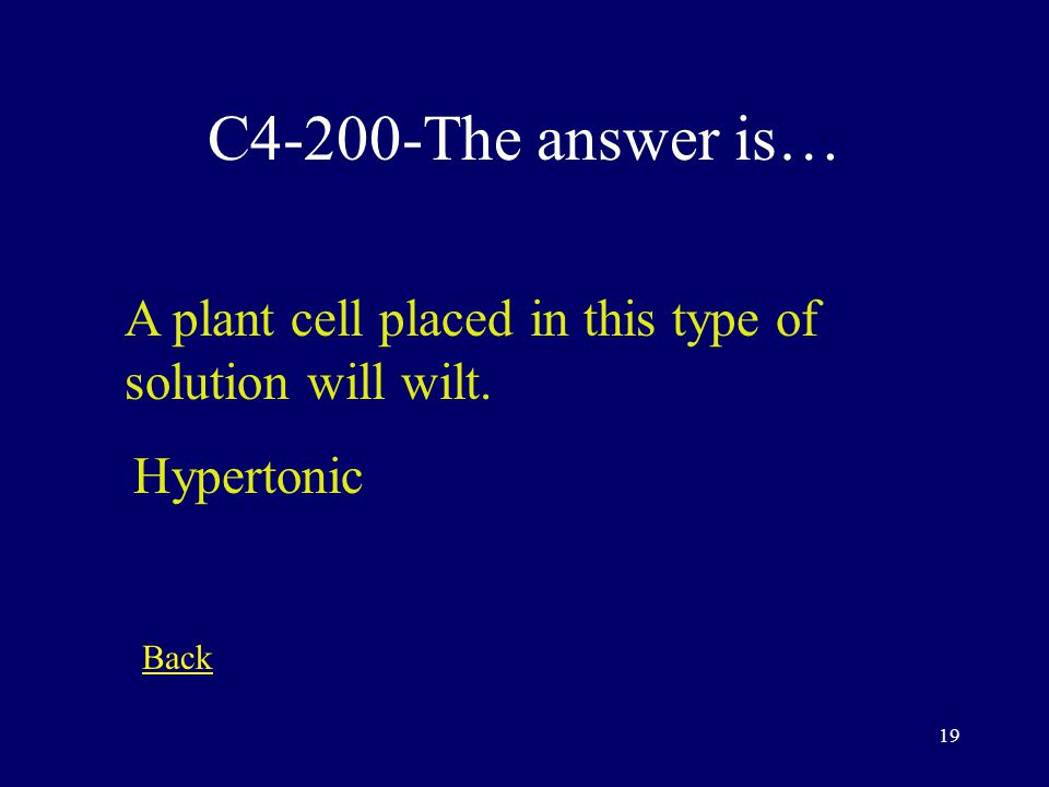 18 C4-100-The answer is… This is considered cell eating phagocytosis Back