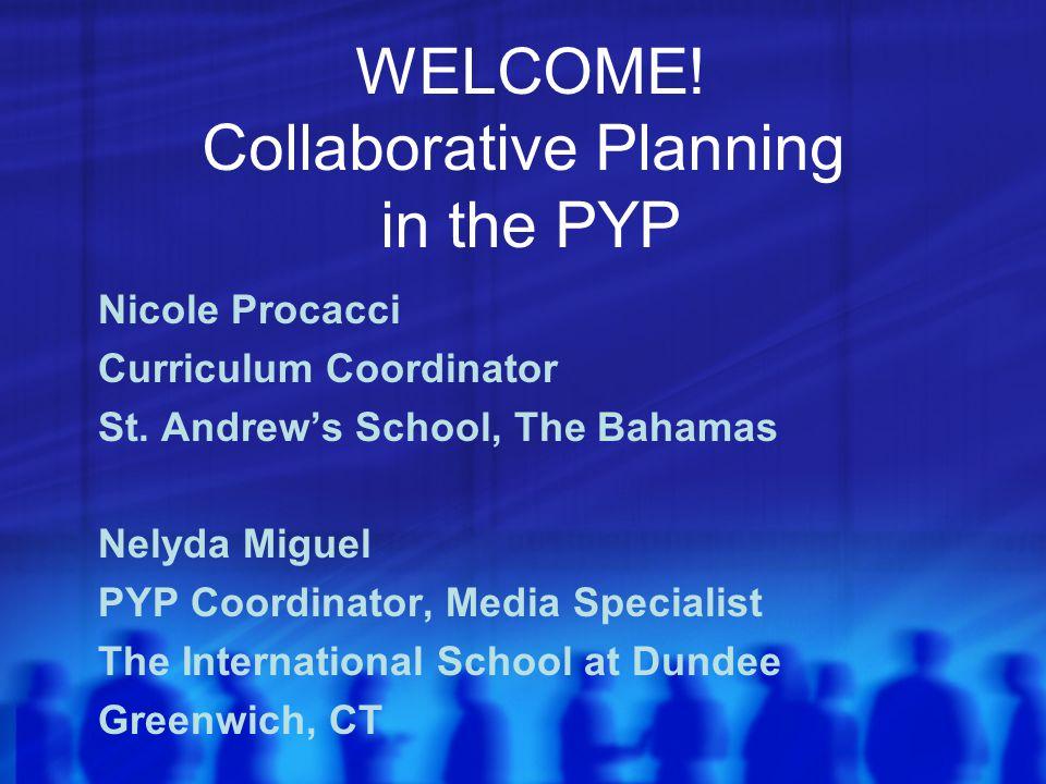 Nicole Procacci Curriculum Coordinator St.