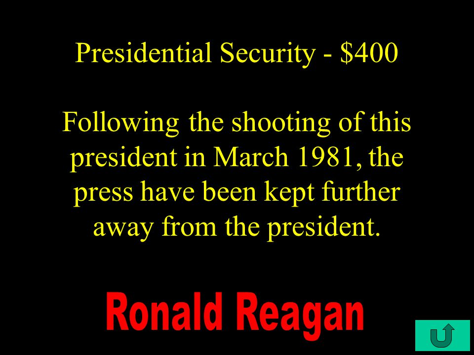C3-$300 Presidential Security - $300 When the president isn't aboard it's designation is VC-52A.