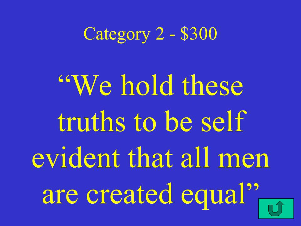 C2-$200 Category 2 - $200 this document by Thomas Paine encouraged the colonist to break away from Great Bitain