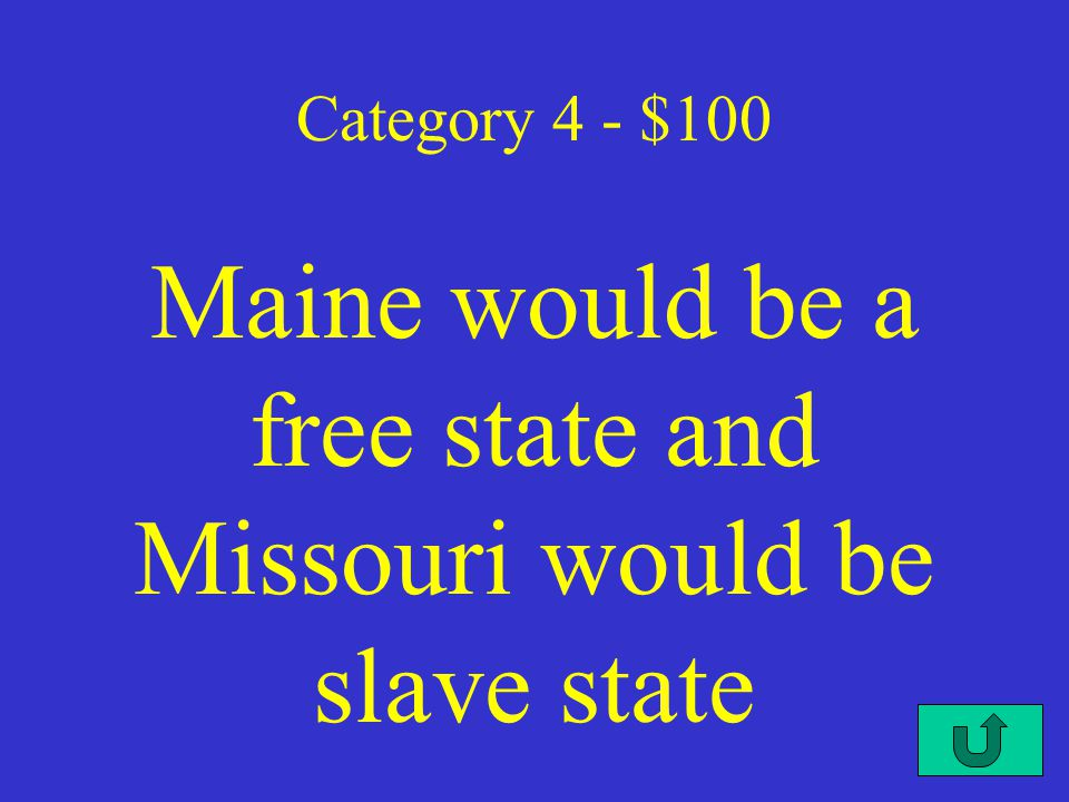 C3-$500 Category 3 - $500 No new colonies in the Americas