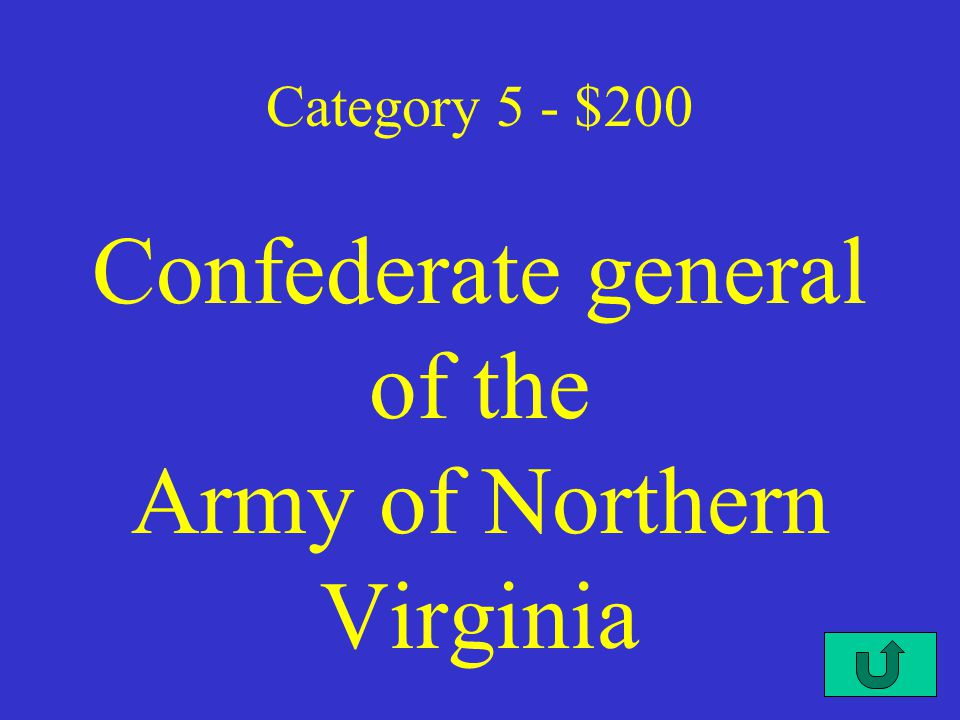 C4-$100 Category 5 - $100 said a house divided against itself cannot stand