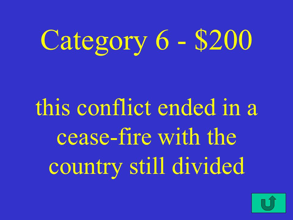 C4-$100 Category 6 - $100 this country put missles in Cuba in 1962