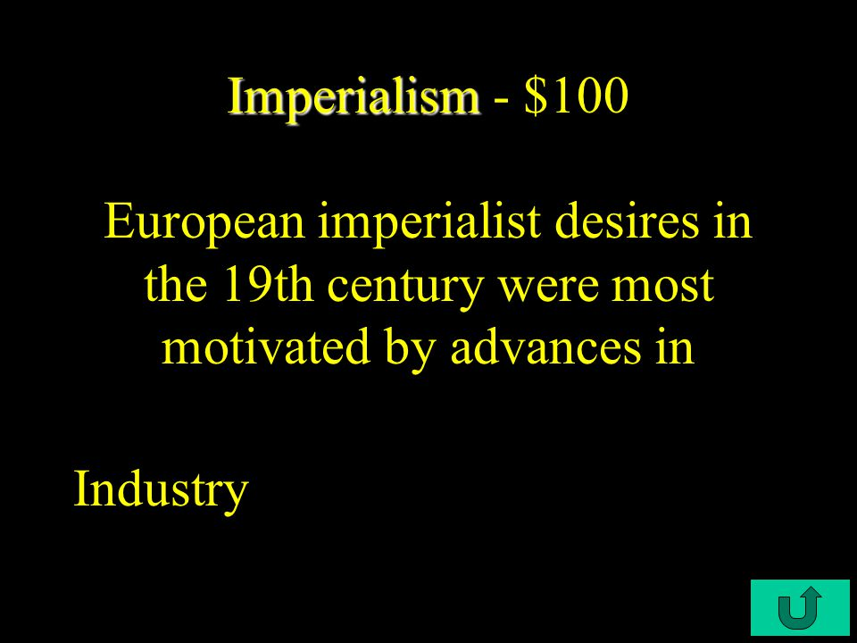 C3-$500 Industrial Revolution Industrial Revolution - $500 According to Marx and Engels who should control the means of production Workers