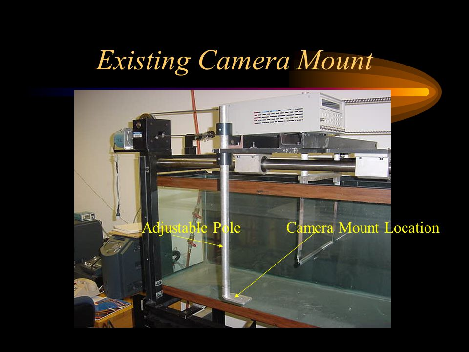 Existing Camera Mount Camera Mount LocationAdjustable Pole