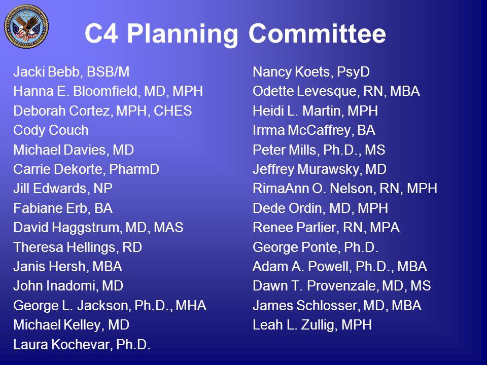 C4 Planning Committee Jacki Bebb, BSB/M Hanna E.
